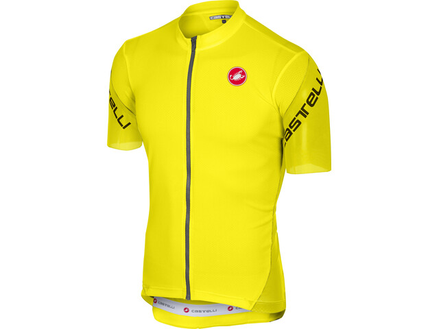 Castelli Entrata 3 Bike Jersey Shortsleeve Men yellow at Bikester.co.uk 63c767d1f